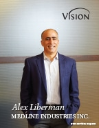 Alex Liberman - Medline Industries Inc  - Vision Magazine