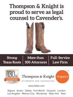 457484128ff James R. Thompson – Cavender's - Vision Magazine
