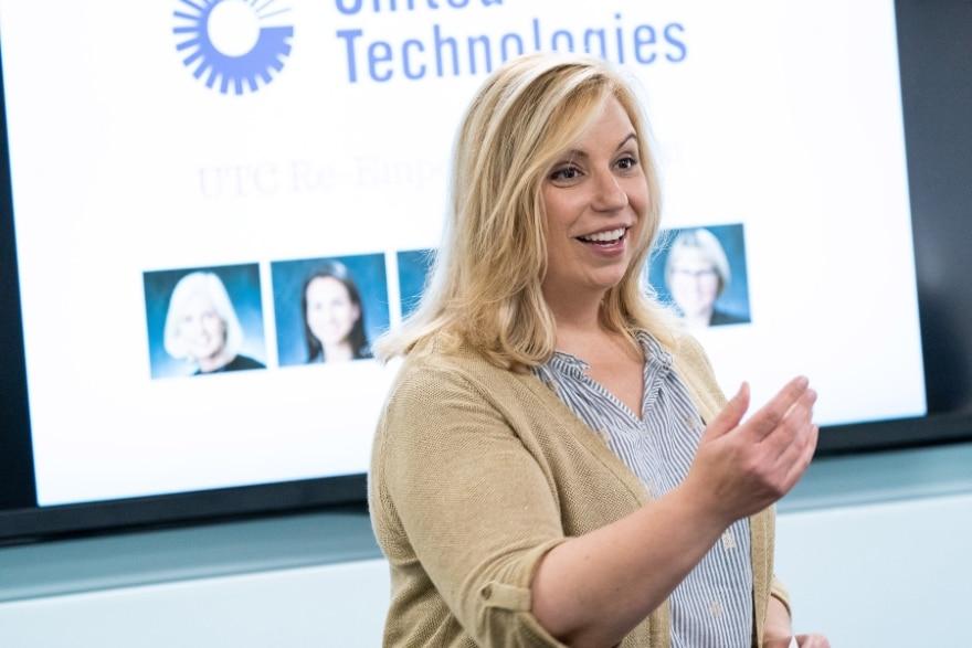 Kristine Salerno—United Technologies Corporation The Vision Magazine
